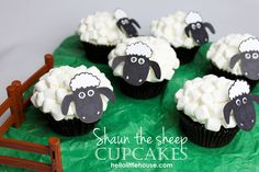 Awwww, she should call them Michael the Mutton cupcakes after our dear Dr. friend!