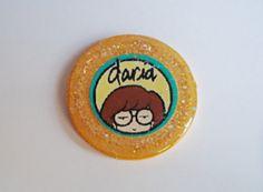 Daria Morgendorffer glitter Brooch by kreepshowkouture on Etsy, $6.99
