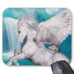 Awesome pegasus mouse pad designs.