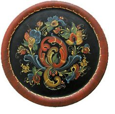 Rosemaling (decorative folk art)--a lot of Norwegian households still hold a lot of decorative pieces which they use up to this day