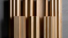 Curved Walls, Textured Walls, Wood Panel Texture, Solution Architect, Pine Timber, Natural Contour, Co Design, Wall Installation, Lobbies
