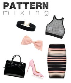 """""""Pattern Mixing"""" by nichetino ❤ liked on Polyvore featuring Miss Selfridge, Dsquared2 and Gianvito Rossi"""