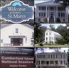St. Marys is a city in Camden County, Georgia, United States. The city is the gateway to Cumberland Island National Seashore, the largest of the Georgia Coast's barrier islands