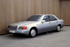 Mercedes-Benz S-Class (W140). Mockup from 1984