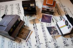 l'histoire d'une fille: Impossible Polaroid Paper Model Kit