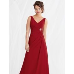 Bridesmaids dresses can be a simple alternative to a youthful mother's dress! Just remember to order early enough. (16-20 weeks in advance) Jordan Fashions 459