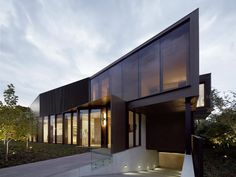 Shrouded House, Victoria, Australia by Inarc.