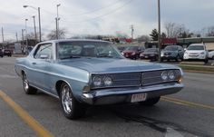 1968 Ford Galaxie 500 2-Door Hardtop Various Engine options were 3.9L Straight-Six. 4.5L Y-Block V8, 4.7L Windsor V8, 4.8L  Y-Block V8, 4.9L Windsor V8, 5.8L, 6.4L and 7.0L FE V8's