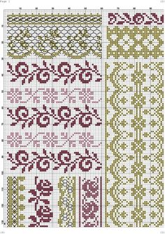 Cross Stitch Boarders, Cross Stitch Sampler Patterns, Cross Stitch Rose, Cross Stitch Alphabet, Cross Stitch Flowers, Cross Stitch Charts, Cross Stitch Designs, Cross Stitching, Cross Stitch Embroidery