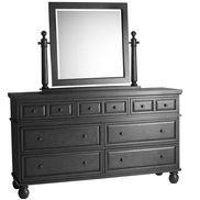 Ashworth Dresser & Mirror - Black
