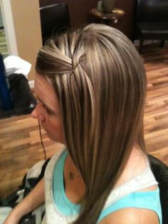 hair by Whitney Renee' Anderson; great highlights and lowlights combination!