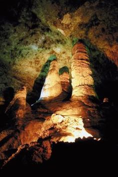 New Mexico's Carlsbad Caverns is one of the state's many family-friendly attractions.