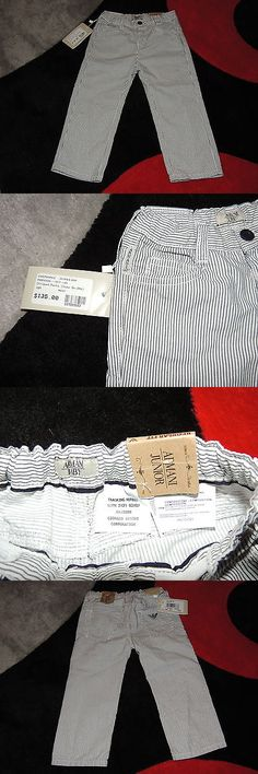 Other Newborn-5T Boys Clothes 147343: Bnwt Armani Junior Striped Dressy Pants Spring Summer Collection Size 18M -> BUY IT NOW ONLY: $74 on eBay!