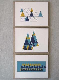 scandinavian inspired christmas cards.