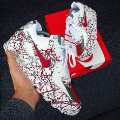 Top 10 Air Max Customs II - Page 2 of 10 - WassupKicks - Schuhe - shoes Sneakers Mode, Sneakers Fashion, Fashion Shoes, Cheap Fashion, Fashion Men, Shoes Sneakers, Basket Style, Nike Air Shoes, Hype Shoes