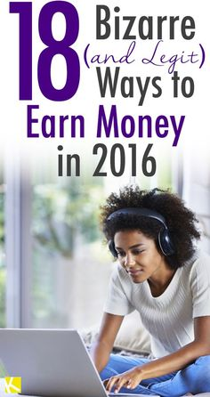 18 Ways to Earn Money in 2016 - lots of info on this post - via The Krazy Coupon Lady