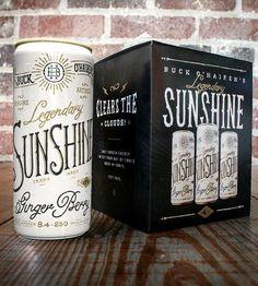 Buck O' Hairen's Legendary Sunshine Energy Drink 4-Pack