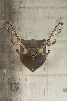 Retrouvius Reclamation and Design Double antler hooks - yes please...