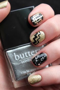 Fundamentally Flawless: Inspiration: The Great Gatsby Nail Art and Summer at Bluebird, Chelsea
