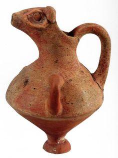 Hittite, bull-headed pitcher, Kültepe-Kaniş, 1800-1730 BC  (Erdinç Bakla archive)