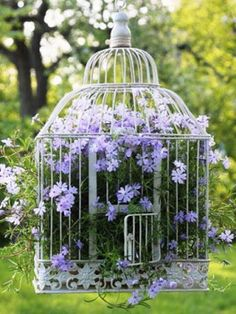 DIY Gartendeko selber machen – VogelkäfigdekoYou are in the right place about bird in flight Here we offer you the most beautiful pictures about the bird paper you are looking for. When you examine the DIY Gartendeko selber machen – Vogelkäfigdeko Diy Garden Decor, Garden Art, Garden Design, Garden Types, Diy Gardening, Container Gardening, Organic Gardening, Container Plants, Vegetable Gardening