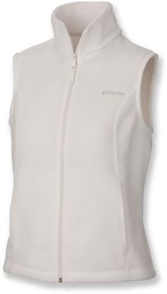Columbia Benton Springs Vest - Sea Salt size small $29.95 (They have a Columbia Sportswear  place at the outlets too!)