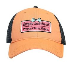 """Simply Southern """"Preppy Bow"""" Hat"""