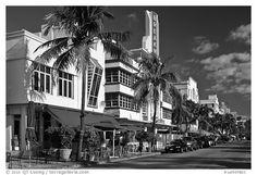 Art Deco District, Miami Beach. Florida, USA