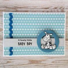 Marianne Design - Zebra Baby Zebra, Marianne Design, Baby Cards, Copic, Little Babies, Stampin Up, Cute Animals, Baby Boy, Scrapbook
