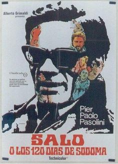 Salo aka Salò o le 120 giornate di Sodoma (1.5 stars) There are no plot or story elements here. This is just one man's interpretation of a twisted man's sexual perversions. I only watched this because of its historical cinematic significance. For some odd reason, it is highly regarded by the art house crowd (and 64% of RT users). The sad part is, the horrors perpetrated on these young people aren't nearly as bad by today's filmmaking standards as what you'd see in a slasher movie.