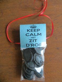 keep calm het zit d'rop!!!