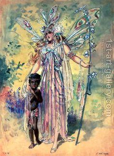 Wilhelm Costume Design for Titania, A Midsummer Night's Dream Theatre Costumes, Fairy Costumes, Midsummer Nights Dream, Victoria And Albert Museum, Fairy Art, Illustrations, Faeries, Costume Design, Film