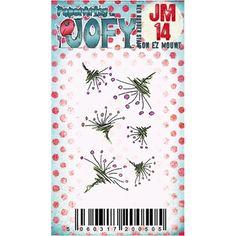 Paper Artsy JOFY MINI 14 Rubber Cling Stamp JM14