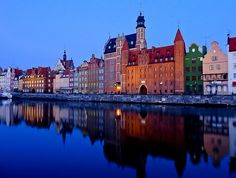 Early morning in Gdansk, Poland by Frans Sellies from Flickr