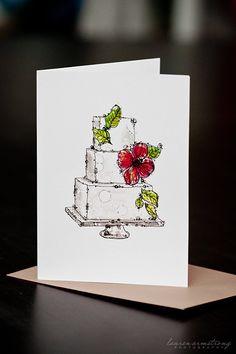 Sweetest Future Wedding Card by Penelope Poppy!