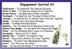 Engagement Survival Kit In A Can. Humorous Novelty Fun Gift - Couple Congratulations Present & Card All In One. Customise Your Can Colour.(P...