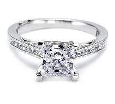 The Tacori Princess.  Simply. Beautiful.
