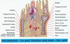 Akupunktur kaki, gambar dan teks karya ASLI OEI GIN DJING, Akupunkturis | Oei Gin Djing, Akupunkturis Reflexology Massage, Pressure Points, Acupressure, Massage Therapy, Computer Science, Body, Health Tips, Healthy Lifestyle, Knowledge