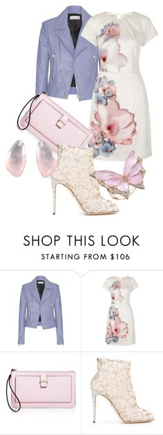 """""""Art in Fashion Contest"""" by rubberchicken-queen ❤ liked on Polyvore featuring Balenciaga, Uttam Boutique, Kate Spade, Dolce&Gabbana and Stephen Webster"""
