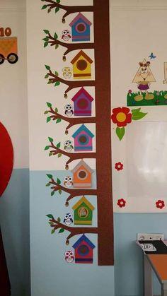 education - bird nest craft Crafts and Worksheets for Preschool,Toddler and Kindergarten craftIdea org School Board Decoration, Class Decoration, School Decorations, Diy And Crafts, Crafts For Kids, Arts And Crafts, Paper Crafts, Decoration Creche, Bird Nest Craft