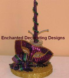 Mardi Gras Candle Wedding Theme decoration by Decorations12, $12.99