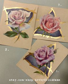 An original 57 drawing of a pale pink rose and water symbol in buntstif Art Sketches, Art Drawings, Rosa Rose, Toned Paper, Color Pencil Art, Art Tutorials, Colored Pencils, Flower Art, Amazing Art