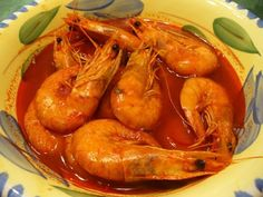 #mexicanrecipes #mexicanfood #soup This richly colored red soup looks so good and the big juicy shrimp make it look really mouthwatering. There are no unnecessary ingredients ...