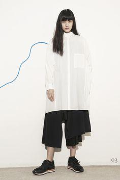 Y's by Yohji Yamamoto Ready To Wear Pre Fall 2015 - NOWFASHION