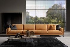 Glamour, a modern sofa from Italian furniture brand Bracci, is characterized by … - LUXURY FURNITURE Contemporary Bedroom Furniture, Modern Bedroom Design, Modern Design, Sofa Furniture, Luxury Furniture, Furniture Showroom, Italian Leather Sofa, Italian Furniture Brands, Living Room Sectional