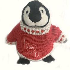 "I Love You Penguin Plush (10"" Tall)"