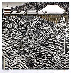 yama-bato:  MORIMURA Ray, Kiyomizu-dera in Snow