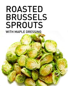 Brussels sprouts are roasted until golden-crusted and tossed in a ...