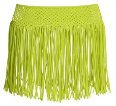 Pin for Later: Kendall and Kylie Are on a Mission to Make Your Summer as Hot as Theirs — With a Batch of Sexy Swimsuits  Kendall + Kylie at Topshop Macramé Fringed Skirt ($52)