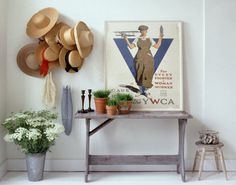 Seaside Chic: 5 Coastal Accessories to Add Summery Style to Any Space Seaside Style, Seaside Decor, Coastal Style, Decorating Your Home, Interior Decorating, Interior Design, Hat Storage, Closet Storage, Storage Ideas